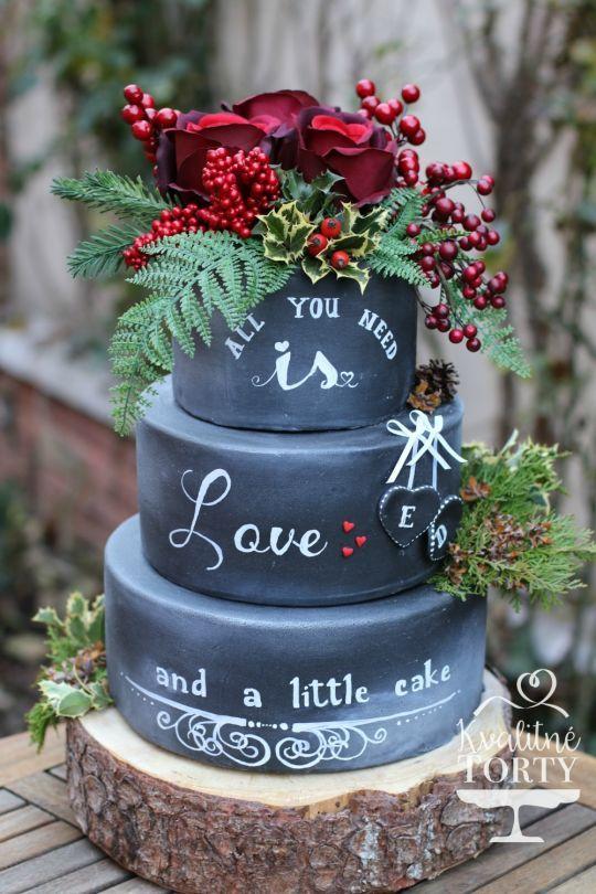 Chalkboard Cakes