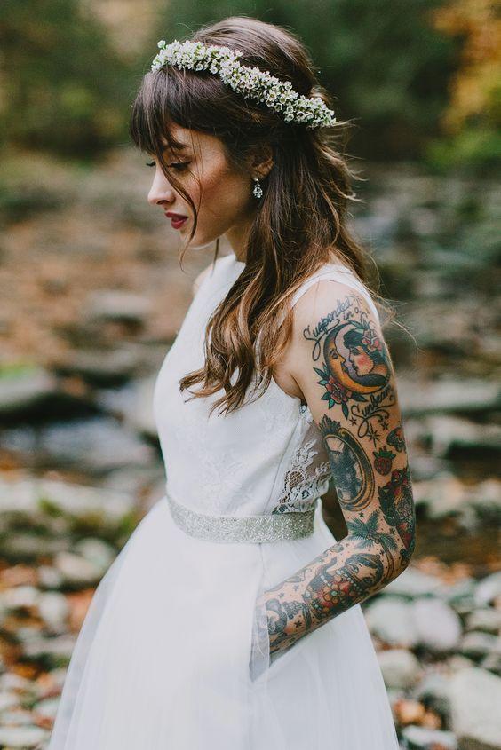 Matrimonio Tema Tatuaggi : Matrimonio a tema tatuaggi matrimoni d autore