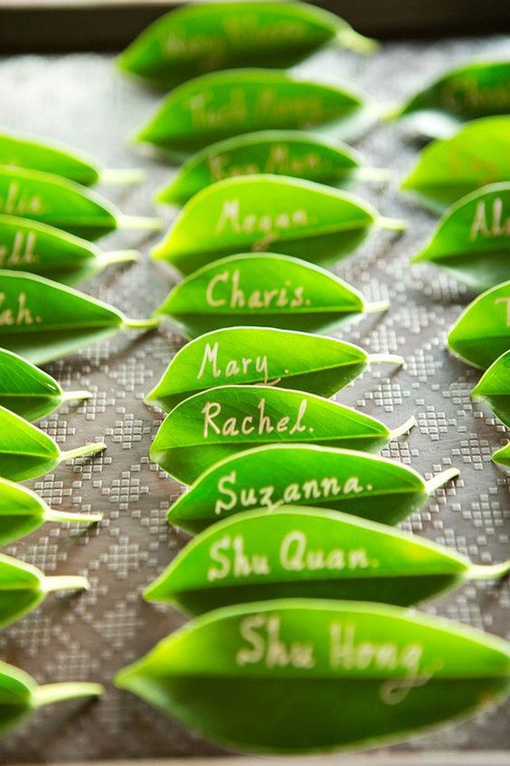 Matrimonio Greenery