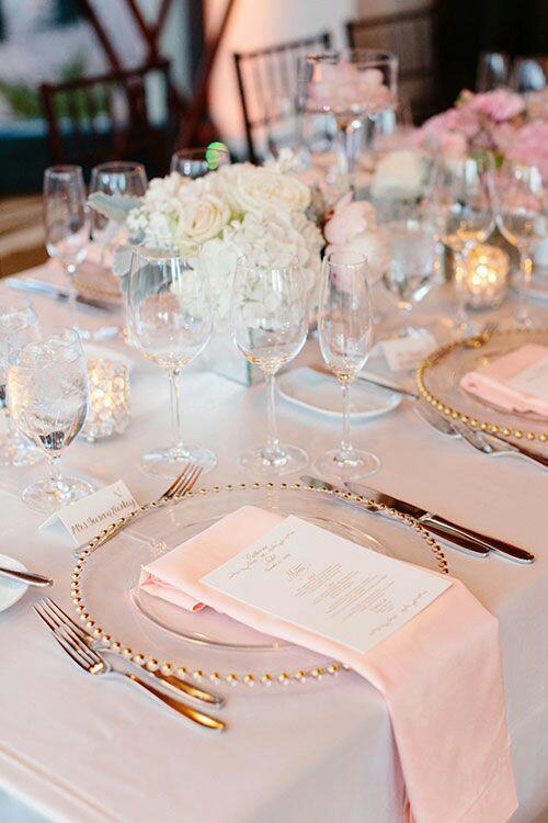Tema Matrimonio Rosa Quarzo : Decorazioni matrimonio oro rosa