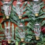 10 Idee per un perfetto Tableau de Mariage Greenery