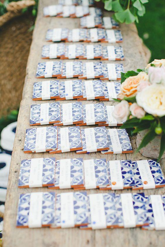 Matrimonio Bianco e Blu