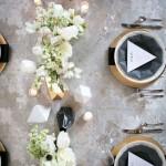 Come organizzare un Matrimonio a Tema Geometrico
