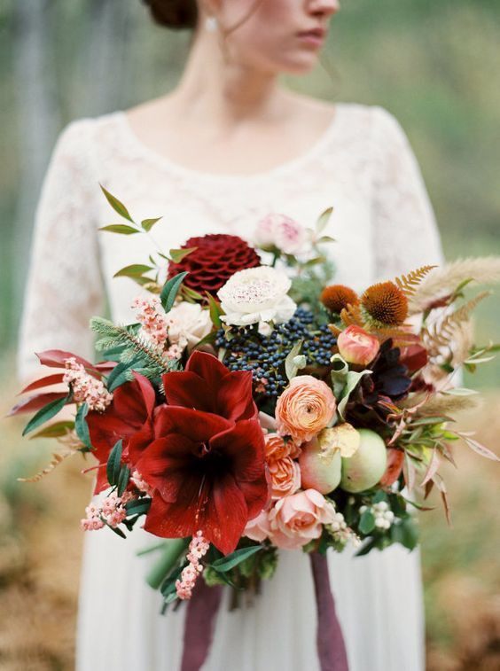 Bouquet Autunnale Amaryllis