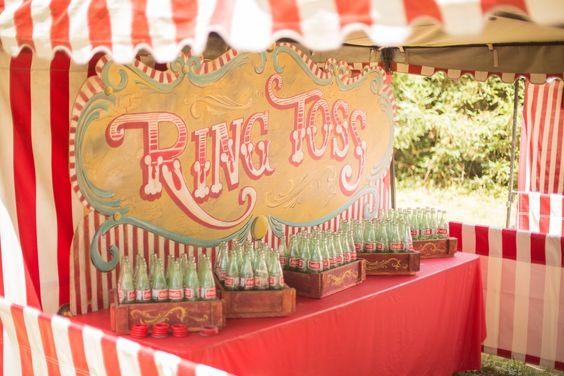 matrimonio a tema Luna Park