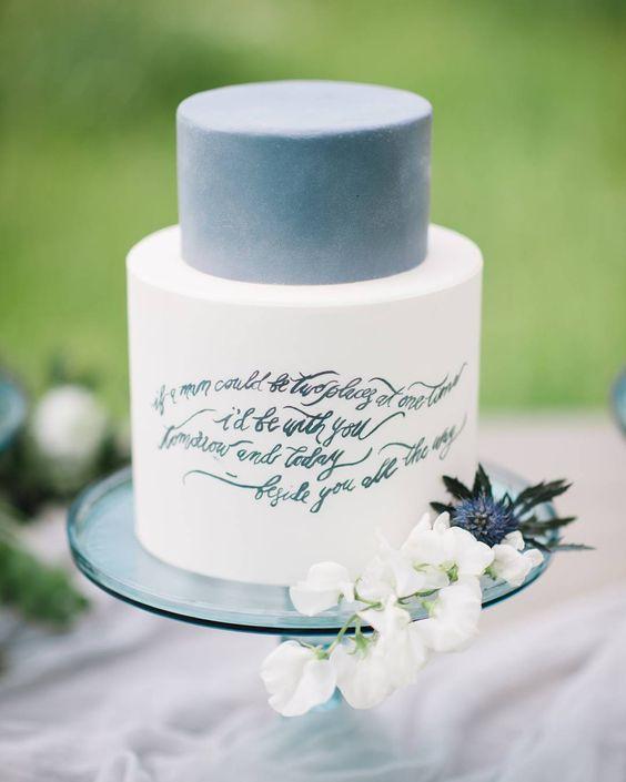 matrimonio colore Blu Niagara