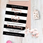 Come organizzare un matrimonio a tema Righe