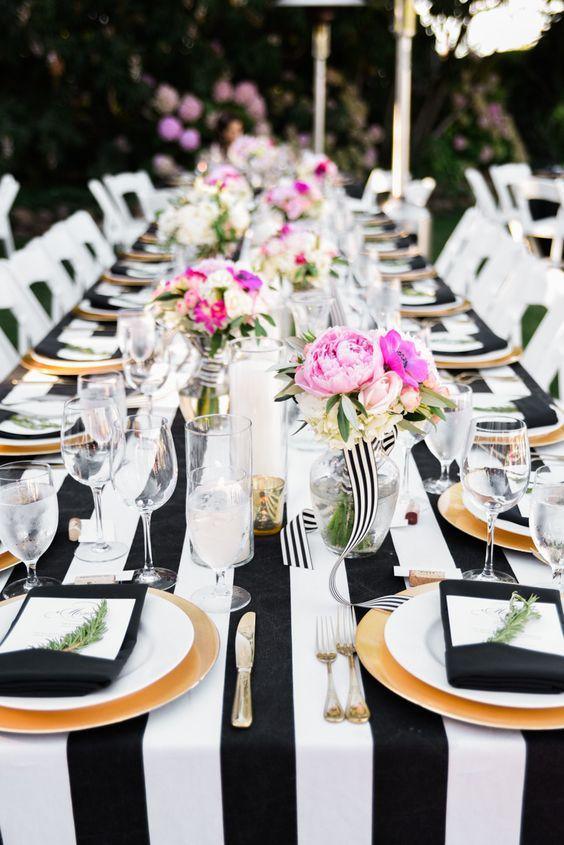 Matrimonio Tema Tavoli : Come organizzare un matrimonio a tema righe matrimoni d