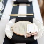 10 idee per presentare il menù del matrimonio