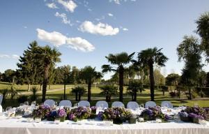 Tavolo decorato matrimonio