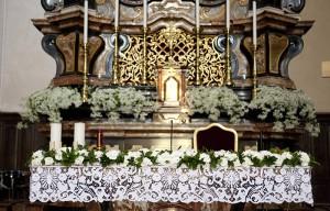 Fiori altare matrimonio
