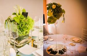 Centrotavola matrimonio con fiori